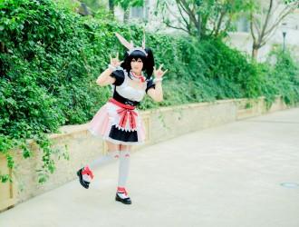 [CosPlay] Nikonikoni - 女仆制服COSPLAY[22P]