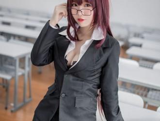 [网红COSER] Yoko宅夏 - 斯卡哈教师Cos  [33P]