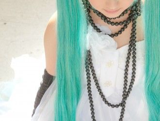 [Cospaly] 绿发美少女coser-Vocaloid - Beautiful Hatsune Miku [99P]
