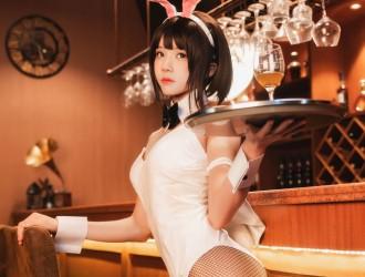 [网红COSER] 桜桃喵 - (加藤惠)兔女郎COS系列  [29P]