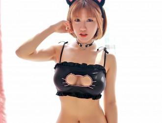 [FEILIN嗲囡囡] Vol.034 K8傲娇萌萌 - 性感的猫女COS[46P]