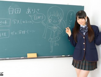 [4K-STAR] No.00283 白田ありさ - 教室学生装诱惑写真[95P]