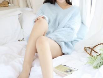[MyGirl美媛馆] Vol.338 童颜巨乳模特@小尤奈第二套私房丝袜美图[48P]