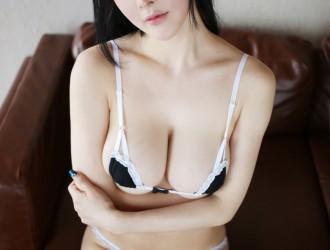 MyGirl美媛馆 Vol.215 蔡文钰Angle 超性感内衣丝袜美图[51P]