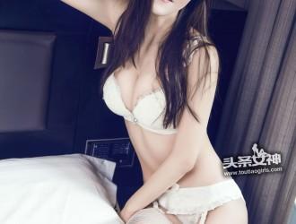 [TouTiao头条女神] No.239 恬美 - 白色内衣唯美韩范儿丝袜美图图片[17P]