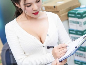 [TouTiao头条女神] 王紫琳 - 王紫琳OL 丝袜美图[33P]