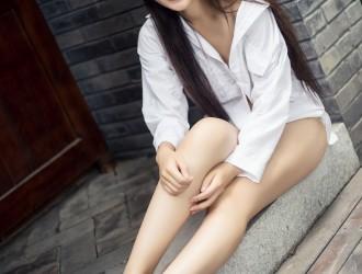 [TouTiao头条女神] No.047 小雅 - 清纯白衬衫 [32P]