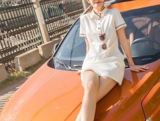 [TouTiao头条女神] 苏凉 - 我是美丽小车模[22P]