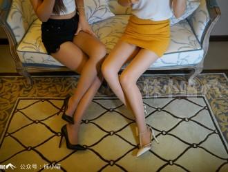 微博美女袜小喵作品之闺蜜大作战影集性感姐妹花丝袜美腿诱惑写真58P