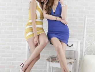 [Beautyleg]主题摄影Winnie&Dennise性感姐妹花靓丽迷人写真46P