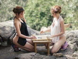 越南名模Thuy Nga Pham越南陶瓷村透视薄纱系列香艳迷人写真103P