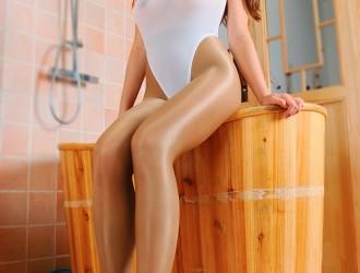[DDY Pantyhose]嫩模Trista瑞莎大尺度私房丝袜系列无圣光套图写真53P