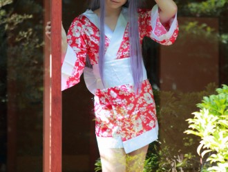 岛国美少女Enako无下限COS女仆装海量性感写真536P