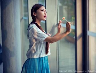 [XIUREN秀人网] No.866 艾小青 - 日系学生服+人体泡沫[35P]