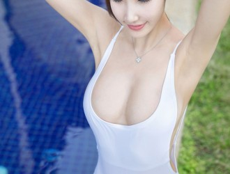 [YOUMI尤蜜荟] Vol.028 Yumi-尤美 - 沙巴旅拍第一套丝袜美图图片[47P]